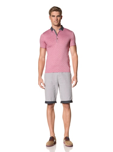 Ted Baker Men's Dictate Polo (Fuschia)