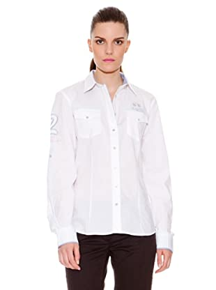 La Martina Camisa Bolsillos (Blanco)