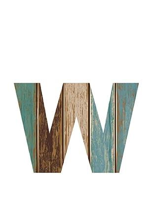 Letra Decorativa Letra W