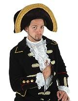 elope Black Tricorn Hat