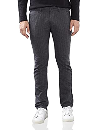 edc by ESPRIT Herren Hose 106CC2B002, Grau (Medium Grey 035), W36/L30