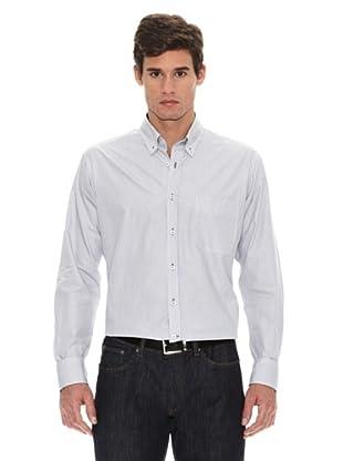 Turrau Camisa Raya Fina (Gris)