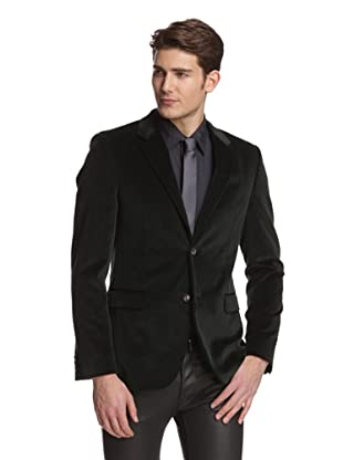 Calvin Klein Collection Men's Bowery Velvet Dinner Jacket (Fir)