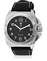 Sd 7025-Bk01 Black/Black Analog Watch