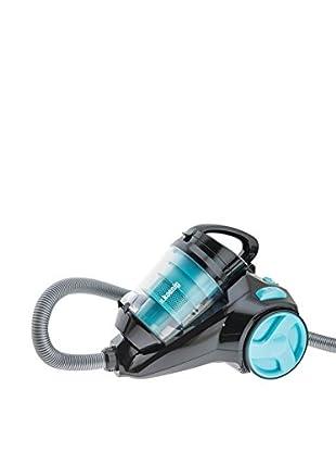 H.koenig Staubsauger Ohne Beutel speziell für Haustiere SLC85 blau
