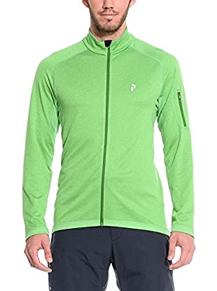 Peak Performance Funktionsjacke Bivval Z J grün XL
