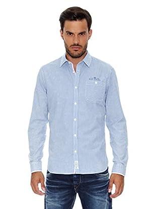 Pepe Jeans London Camisa Hombre Colorado (Azul Claro)