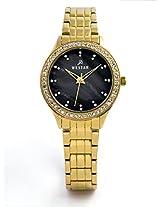 WESTAR Analog Black Dial Women's Watch - 0402GPN113
