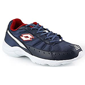 Lotto Truant Navy And Red Men Sports Shoes - AR2131