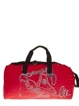 CONVERSE Bolsa deportiva n-3D (Rojo)