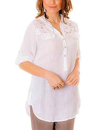 100% Linen Blusa
