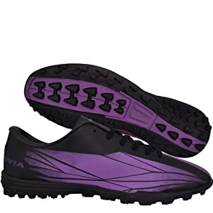 Nivia Hard Ground Football Shoes, Purple with Black 10