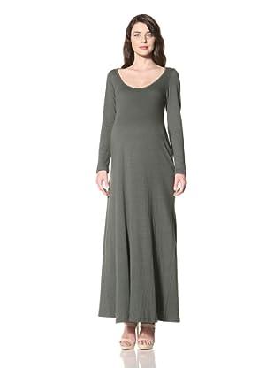 NOM Women's Angie Maxi Dress (Olive)