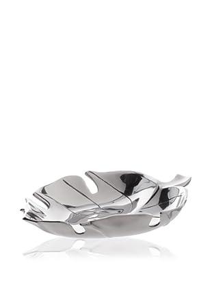 Lunares Silver Leaf Bowl (Silver)