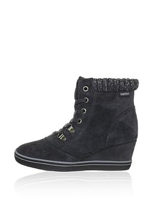 Esprit Keil-Sneaker (Grau)