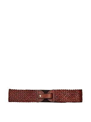 Sándalo Cinturón Trenzado (Marrón)