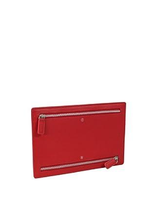 Nava Design Multi-Pocket Saffiano (Rosso)