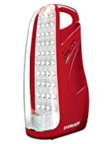 Eveready HL51 40-LEDs Rechargeable Home Light (Red)