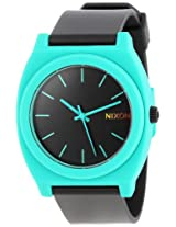 Nixon Men's A119-060 Resin Analog Black Dial Watch