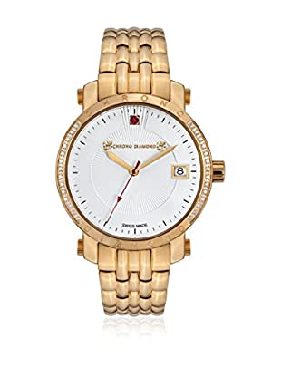 Chrono Diamond Reloj con movimiento cuarzo suizo Woman 10910B Dionne Dorado 35.0 mm