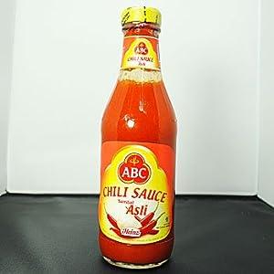 【クリックで詳細表示】ABC サンバルアスリ 340ml X4本セット (HALAL ハラル 認定商品 激辛 チリソース): 食品・飲料・お酒 通販