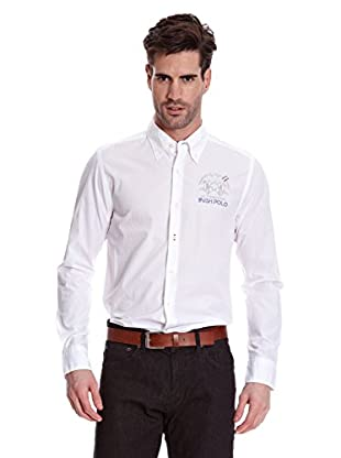 La Martina Camisa Hombre (Blanco)