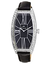 Cerise Dryad Big Dial Analogue Black Dial Women's Watch - CSK1141
