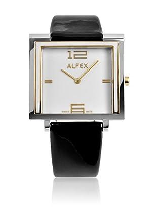 Alfex Quarzuhr 5699_853 36 x 36 mm schwarz