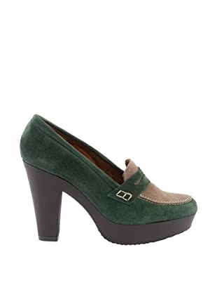 Liberitae Zapatos Plataforma (Verde)
