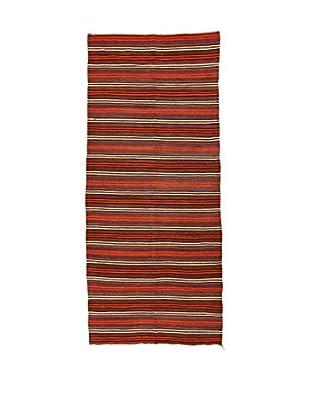 Design Community By Loomier Teppich Kilim Caucasico rot 160 x 368 cm