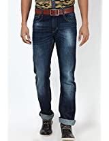 Blue Low Rise Skinny Fit Jeans John Players