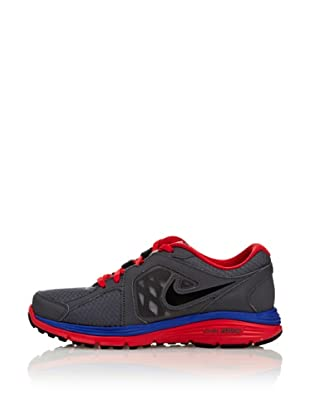 Nike Zapatillas Nike Dual Fusion Run Bg (Gris / Rojo / Azul)