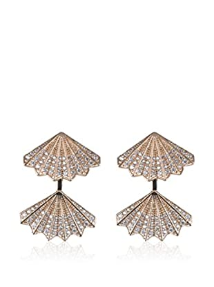 CZ BY KENNETH JAY LANE Ohrringe Pave Fan