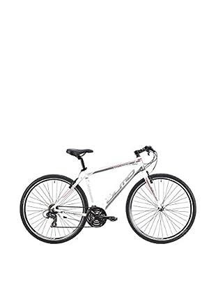 Olmo Bicicleta Trekking Voyager 24V Hombre Blanco