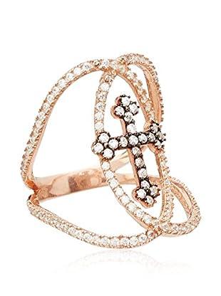 Alexandra Plata Ring  rosévergoldet DE 56 (ES 16)