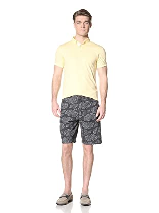 Ben Sherman Men's Printed Short (Navy)