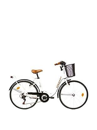 MOMA BIKES Bicicletta 28 Alu 18V City Classic Bianco