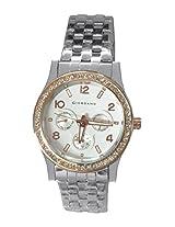 Giordano Analog White Dial Women's Watch - 6202-33