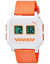 Puma Digital White Dial Unisex Watch - 89178903
