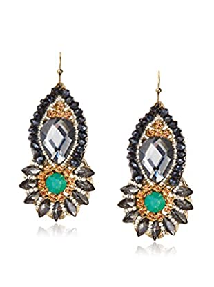 Leslie Danzis Stone-Encrusted Bead Earrings