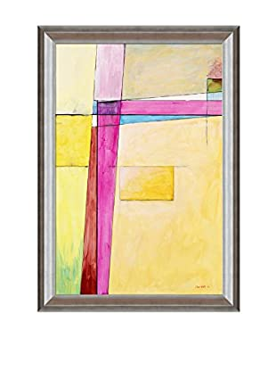 Clive Watts Edge Of Abstraction No 7 Framed Print On Canvas, Multi, 41