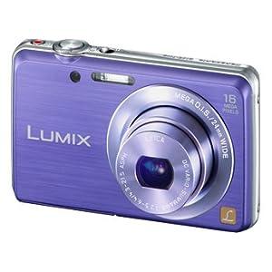Panasonic Lumix DMC-FH8 Casual & Easy Digital Camera (Blue)
