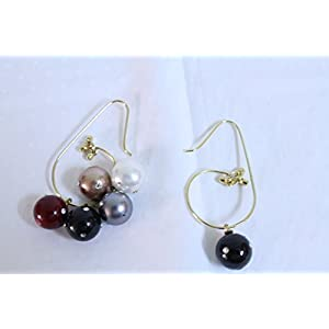 eNV colourfull interchangable balls Earring