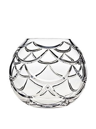Godinger Medium Pinecone Rose Bowl, Clear Crystal