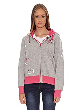 Geographical Norway Sudadera Fructueuse Lady (Gris)