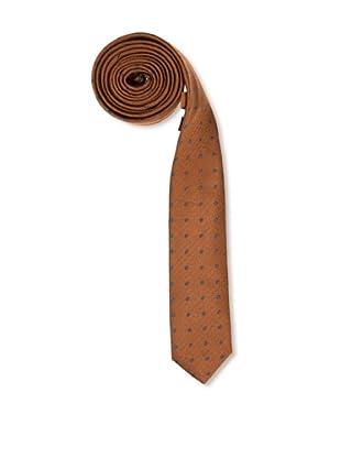Caramelo Corbata Clásica (Marrón Medio)