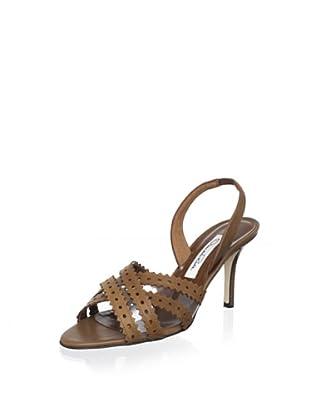Oscar de la Renta Women's Marisolly Sandal (Brown)