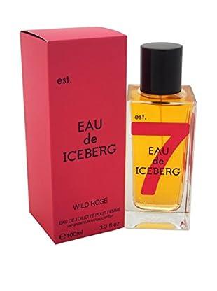 Iceberg Eau de Toilette Damen Eau De Iceberg Wild Rose 100.0 ml, Preis/100 ml: 16.49 EUR
