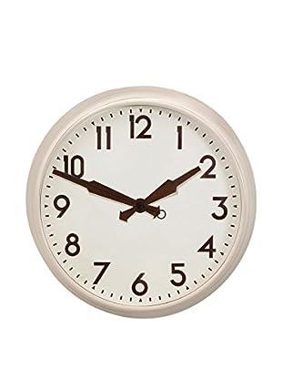 Premier Housewares Reloj De Pared Cream Face