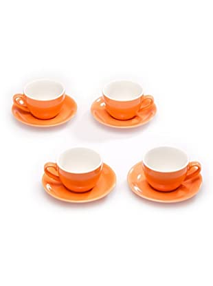 Tognana Set 4 Tazze The (arancione)